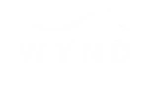 Wynd Realty Logo in White